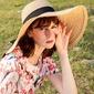 Ladies' Beautiful/Glamourous/Simple/Eye-catching/Pretty/Charming/Fancy/Romantic Raffia Straw Beach/Sun Hats (196169323)