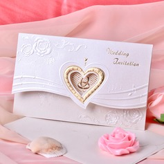 sydän tyyli Tri-Fold Invitation Cards (Sarja 50) (114033291)