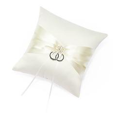 Rengas Tyyny sisään Satiini jossa Satiininauhavöitä/Strassit (103018255)