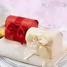 Cofre del Tesoro Papel para tarjetas Cajas de regalos con Cintas (Juego de 12) (050024065)